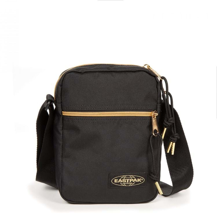 Eastpak Skuldertaske The One Sort/Guld 1