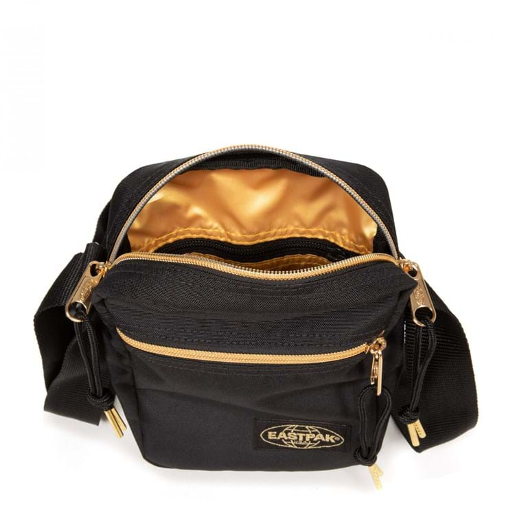 Eastpak Skuldertaske The One Sort/Guld 2