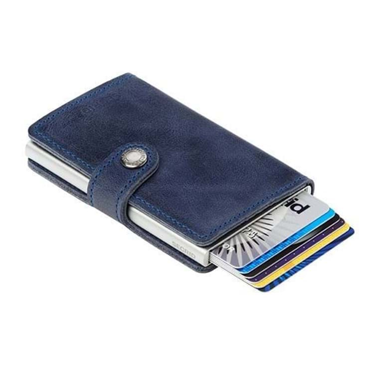Secrid Kortholder Mini wallet Blå 3