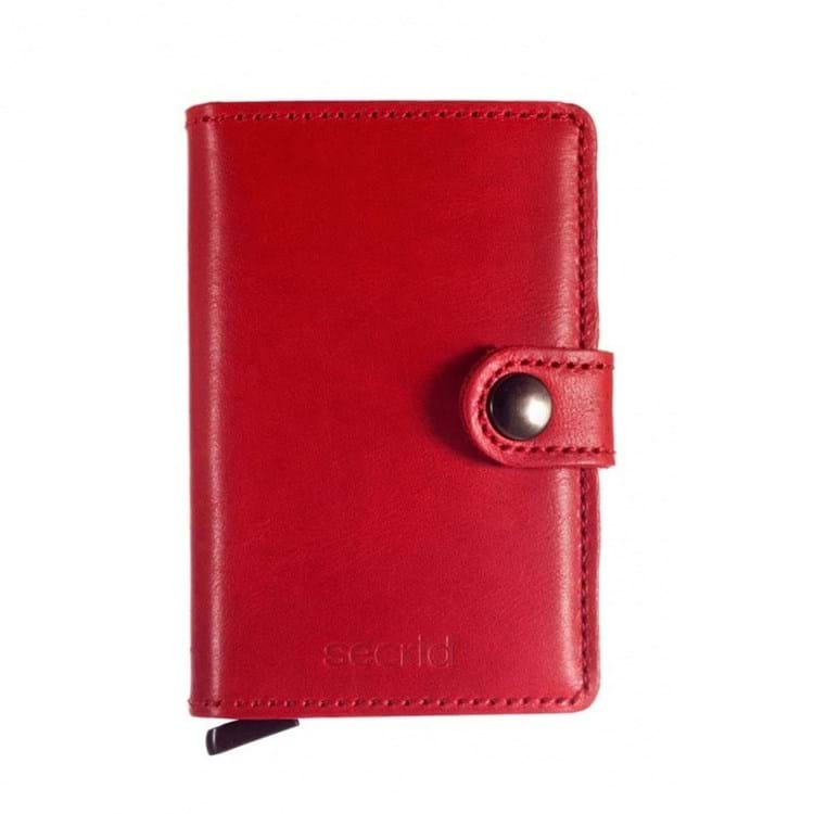 Secrid Kortholder Mini wallet Rød 1