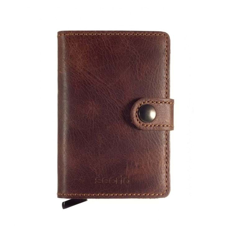 Kortholder Mini wallet Brun 2