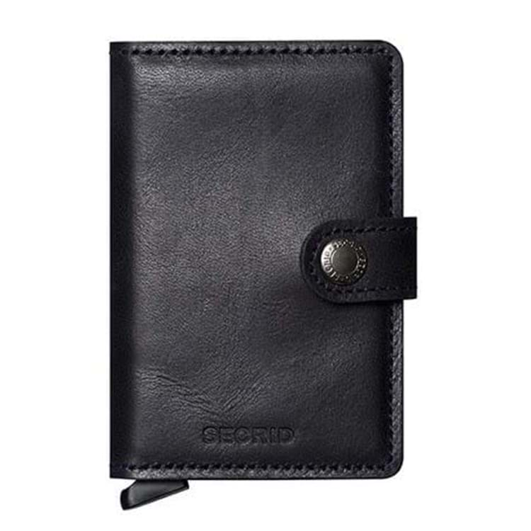 Secrid Kortholder Mini wallet Sort/Sort 1