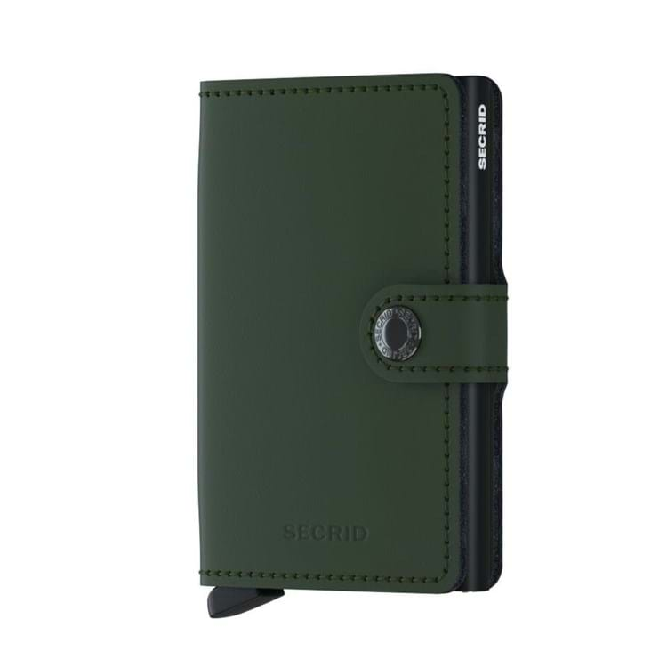 Secrid Kortholder Mini wallet Grøn/sort 1