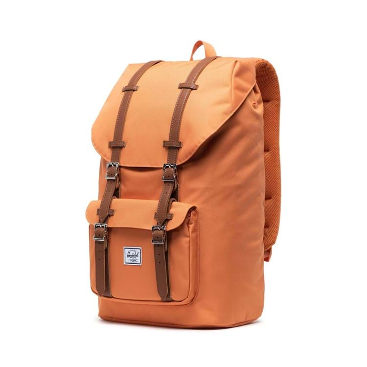 Herschel Rygsæk Little America Orange brun 3