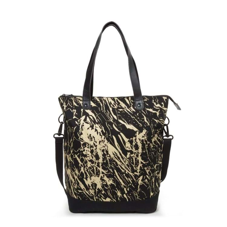 Eastpak Shopper net - Soukie Sort/Gul 4