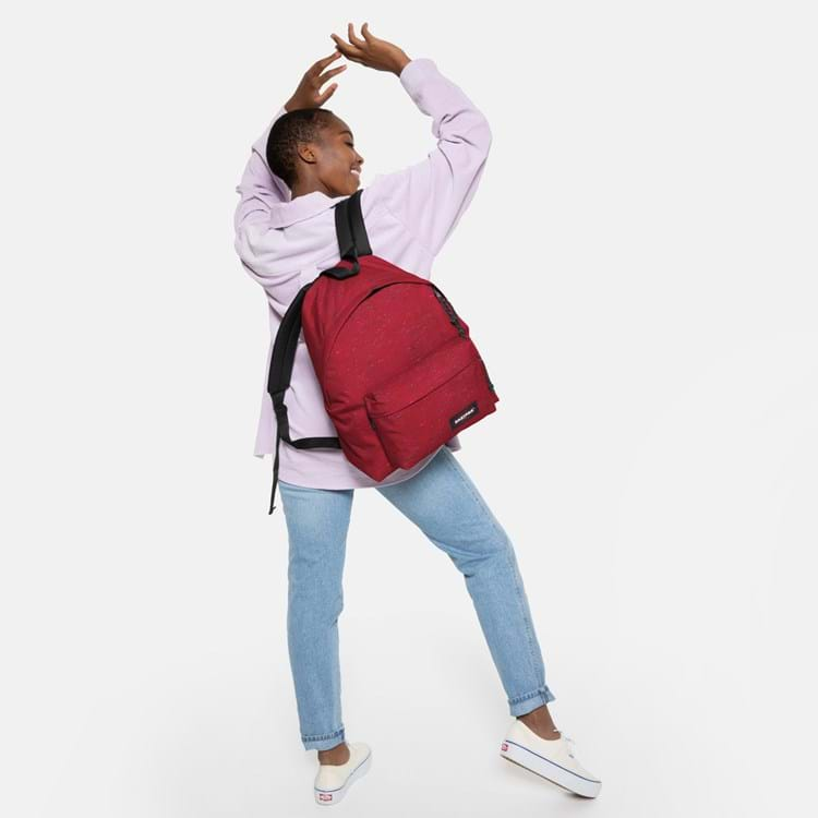 Eastpak Rygsæk Padded Pak'r Bordeaux m/sort 5