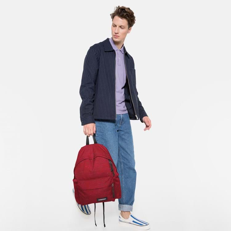 Eastpak Rygsæk Padded Pak'r Bordeaux m/sort 6