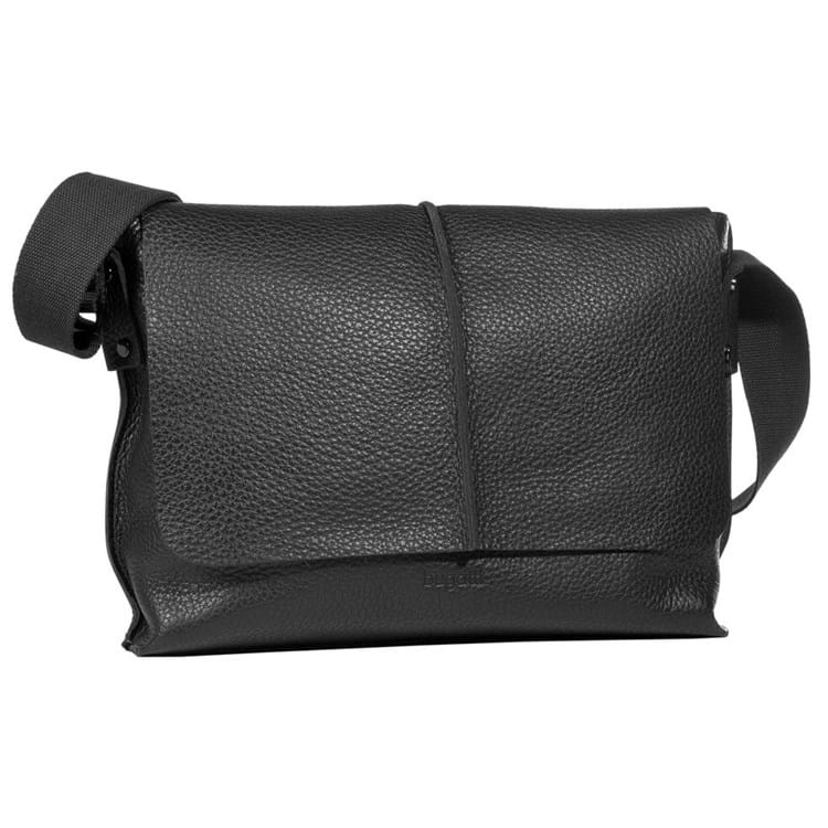 Messenger-bag-Milano Sort 1