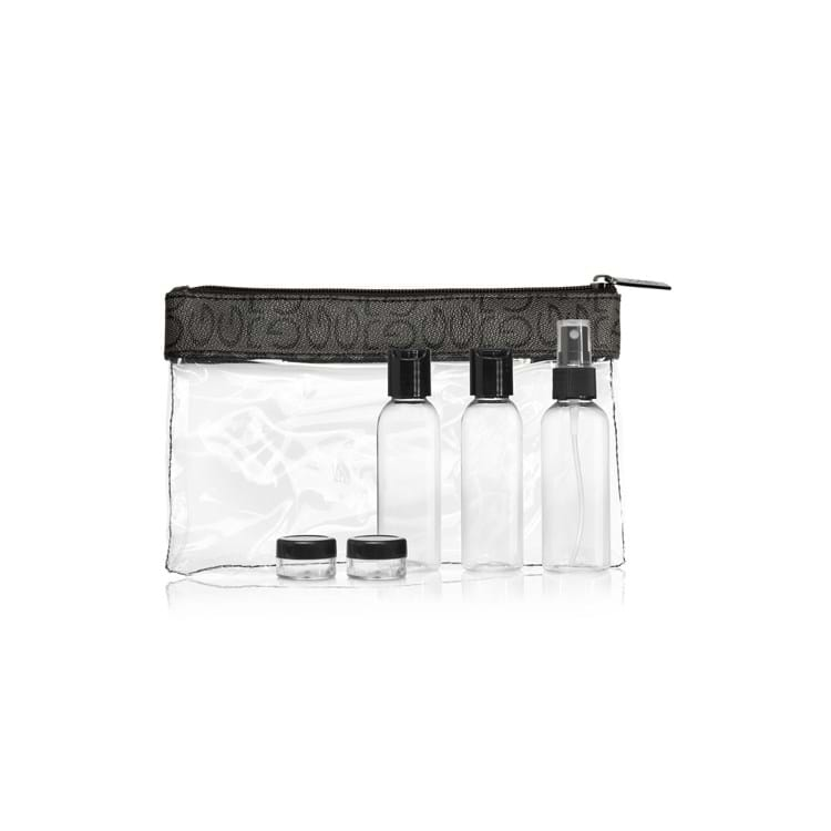 Gillian Jones Check in bag med indhold Transparent 1