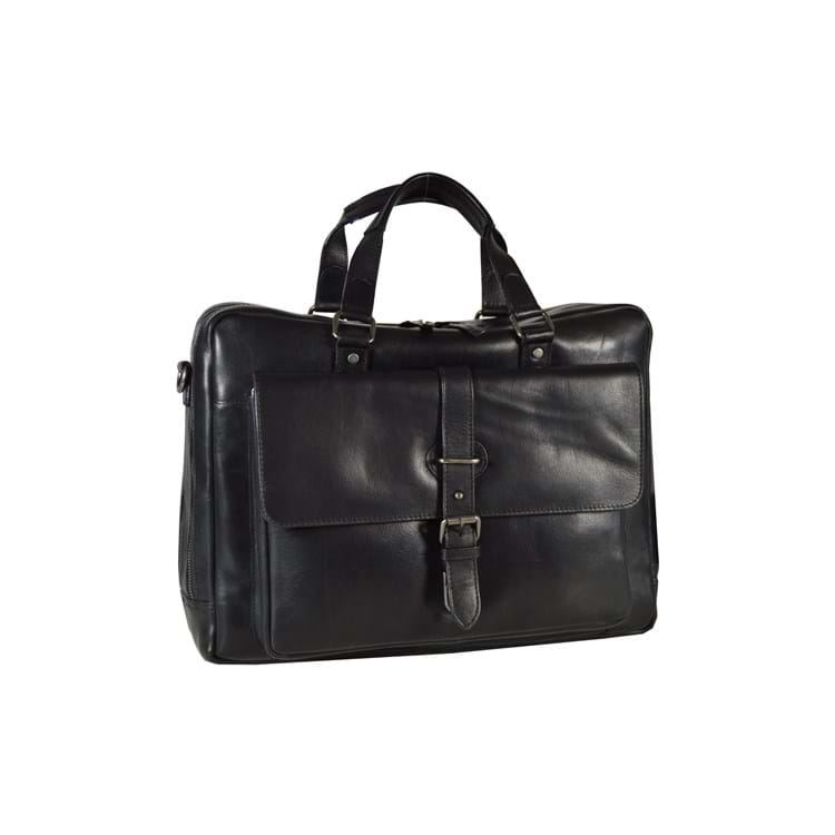 Mappe-briefcase-Roma Sort 1