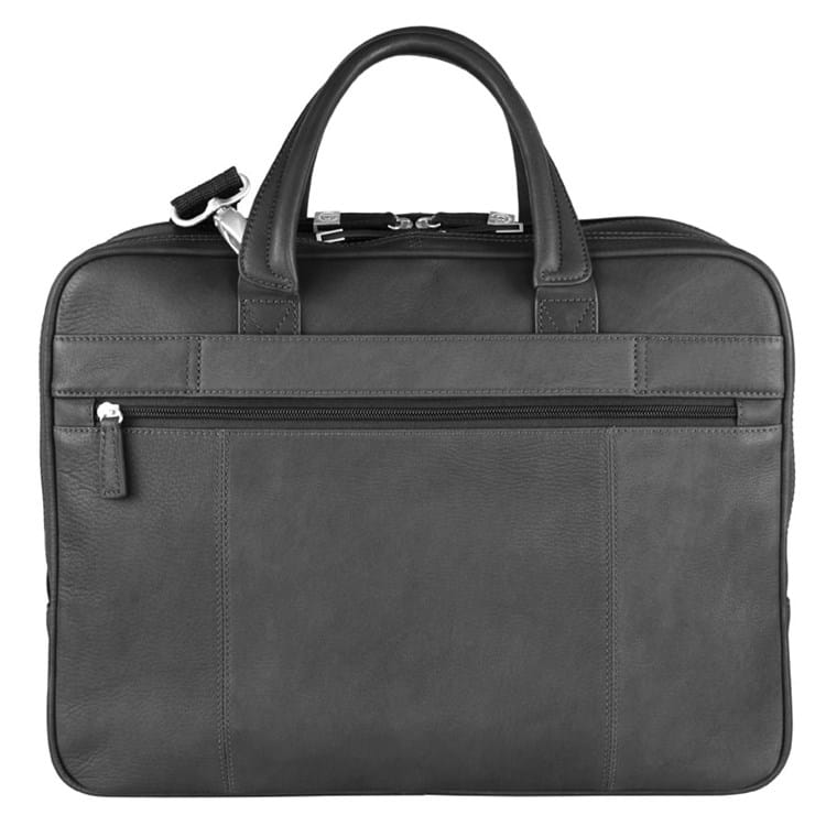 Briefcase-mappe-zip-L-Satoria Sort 2