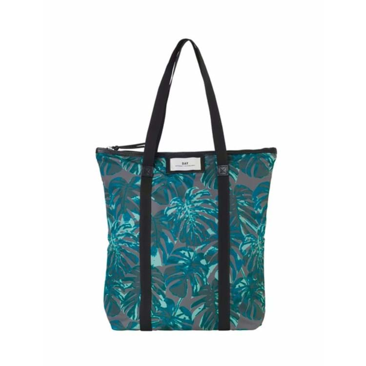 DAY Gweneth P Tropic Tote Blå/sort 1
