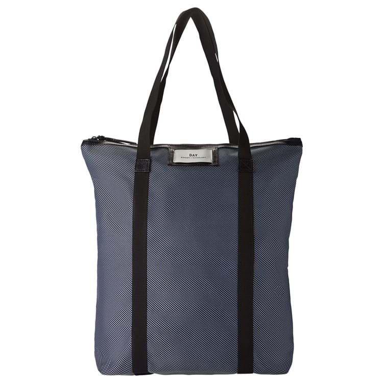 DAY Gweneth Weave Tote Blå 1