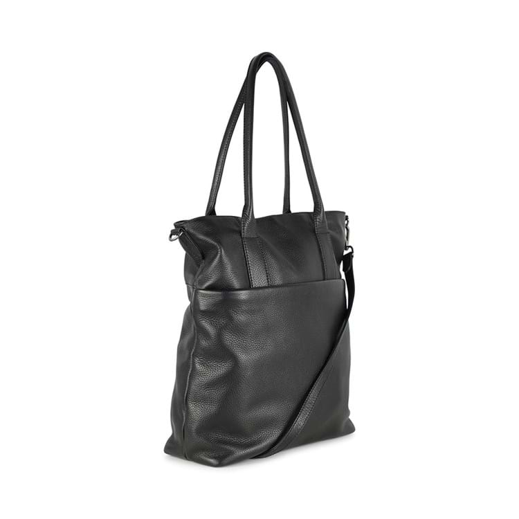 Fenya Bag, Grain, Black, Sort 2