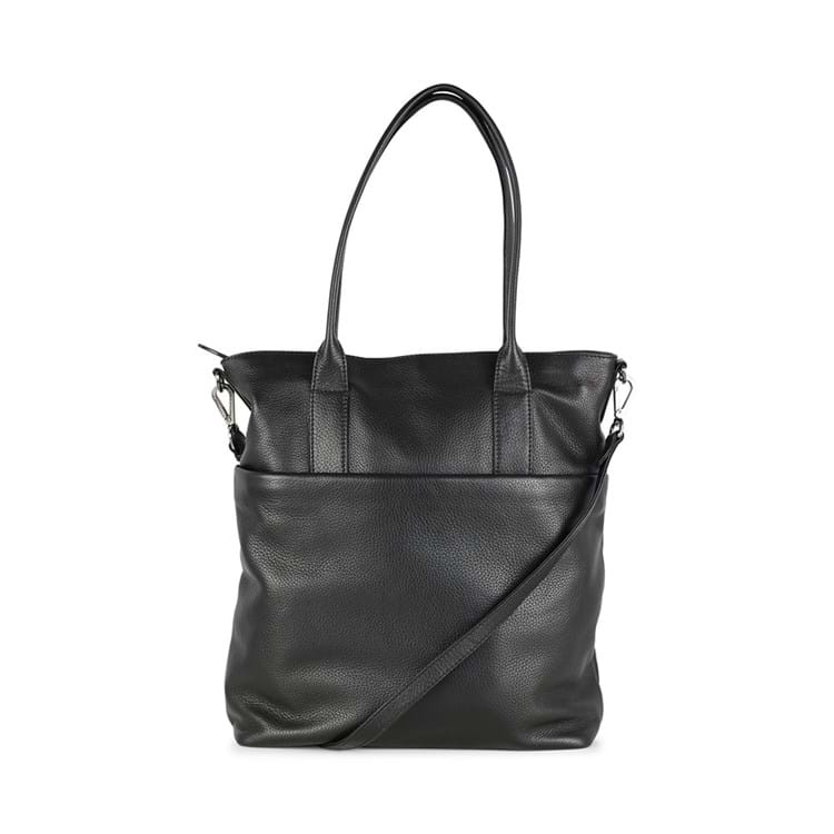 Fenya Bag, Grain, Black, Sort 4