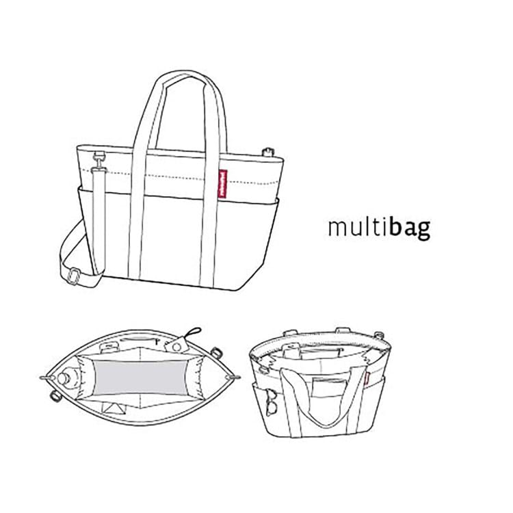 Multibag Sort/prikker 2