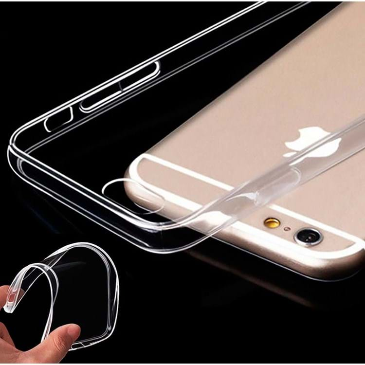 Estuff iPhone 6+/6S+ Clear TPU Cover Transparent 2
