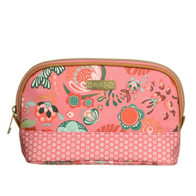 Lilió Toilettaske S -Toiletry bag Pink mønstret 1