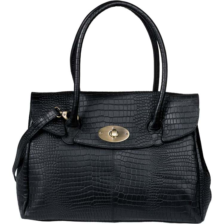 Workbag croco Sort 1