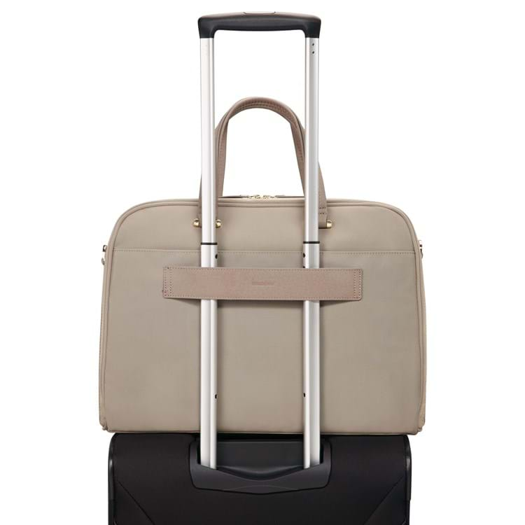 Samsonite Computertaske Zaila Beige 4