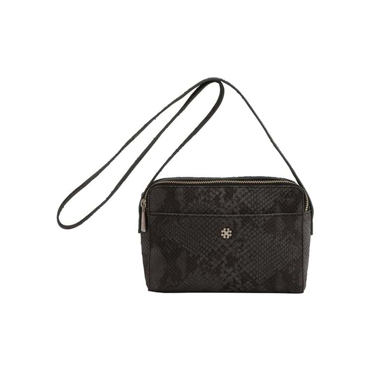 Crossbody Day Snake Zip M. Grå 1