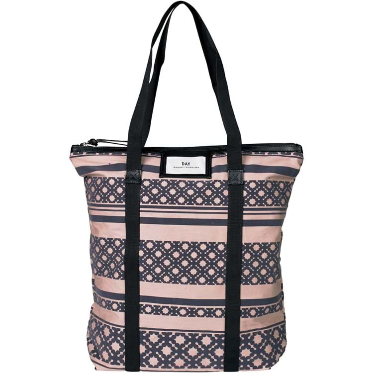 Tote Day Gweneth P Flock Tote Rosa/Grey 1