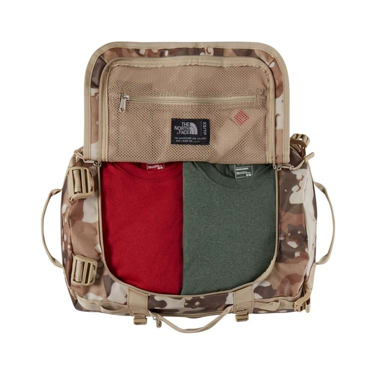 The North Face Duffel Bag Base Camp XS Beige/grøn 3