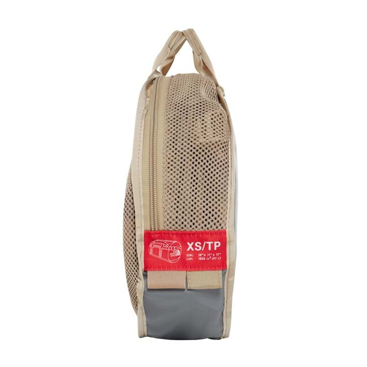 The North Face Duffel Bag Base Camp XS Beige/grøn 4