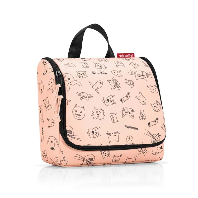 Toilettaske Toiletbag Kids Rose/Black 1