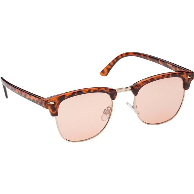 Solbrille-Clubmaster Rosa 1