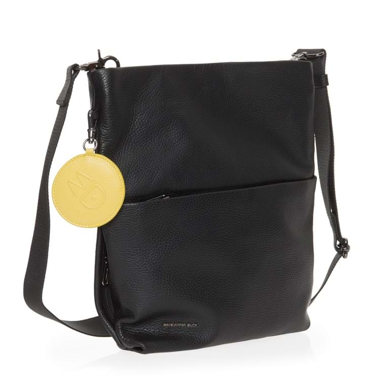 Crossbody Mellow Leather Sort 4