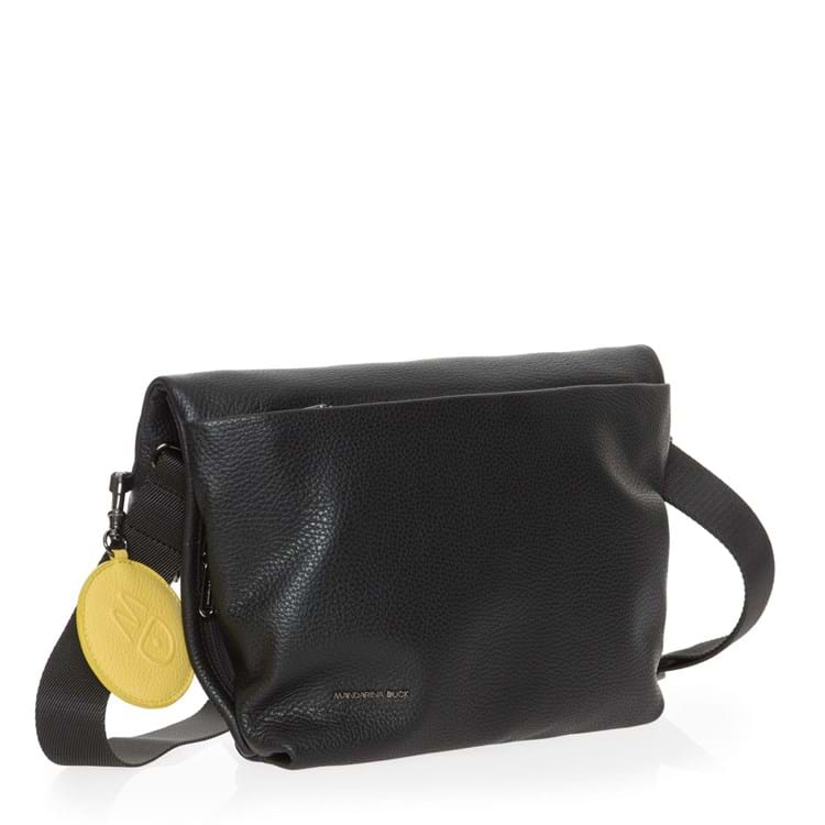 Crossbody Mellow Leather Sort 2