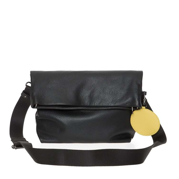 Crossbody Mellow Leather Sort 3