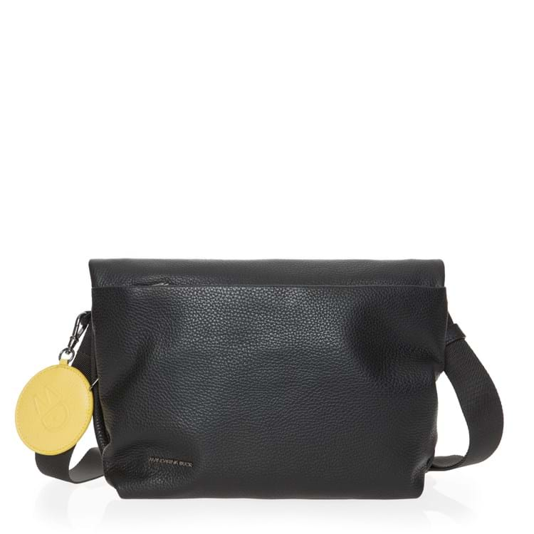 Crossbody, Mellow Leather Sort 1