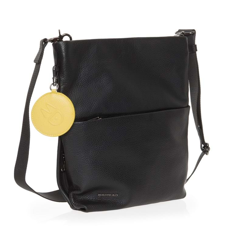 Crossbody, Mellow Leather Sort 4