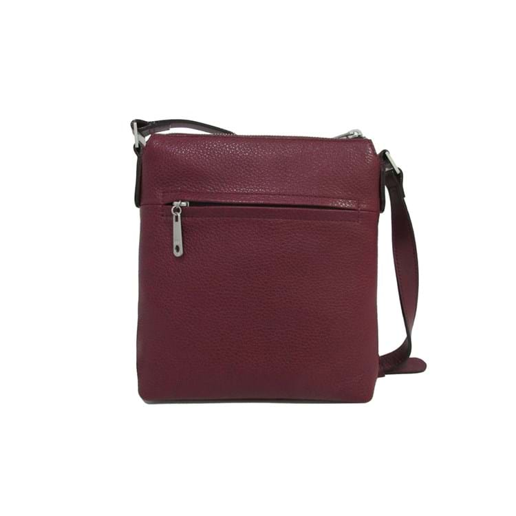 Crossbody Elegance Bordeaux 2