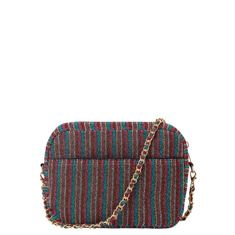 Crossbody, Paya Stripe Pink 1