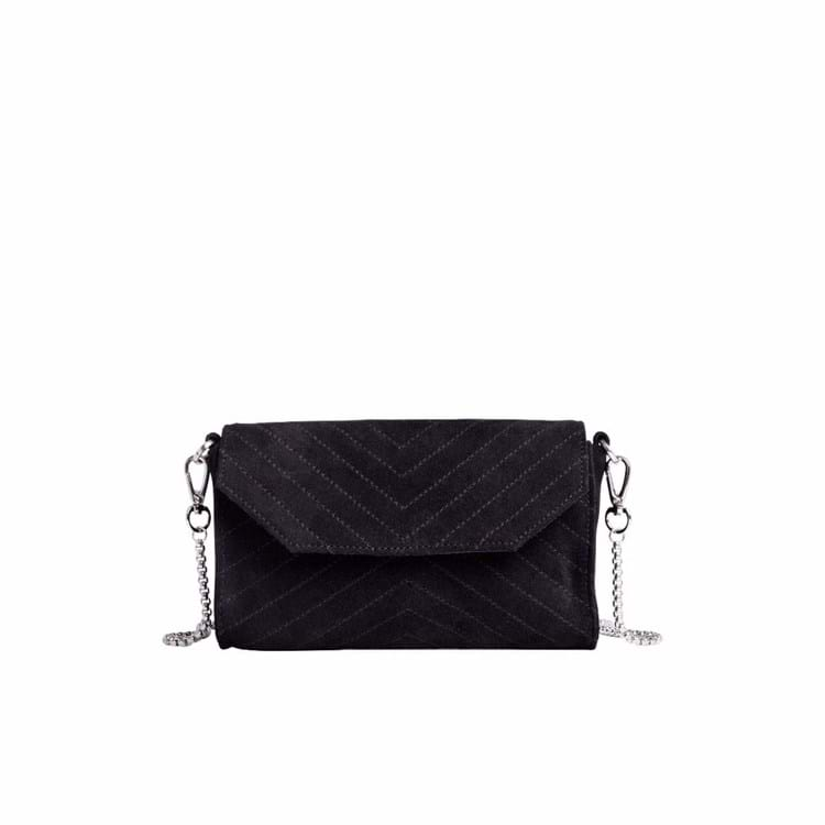 Crossbody Thunder Suede  Sort 1