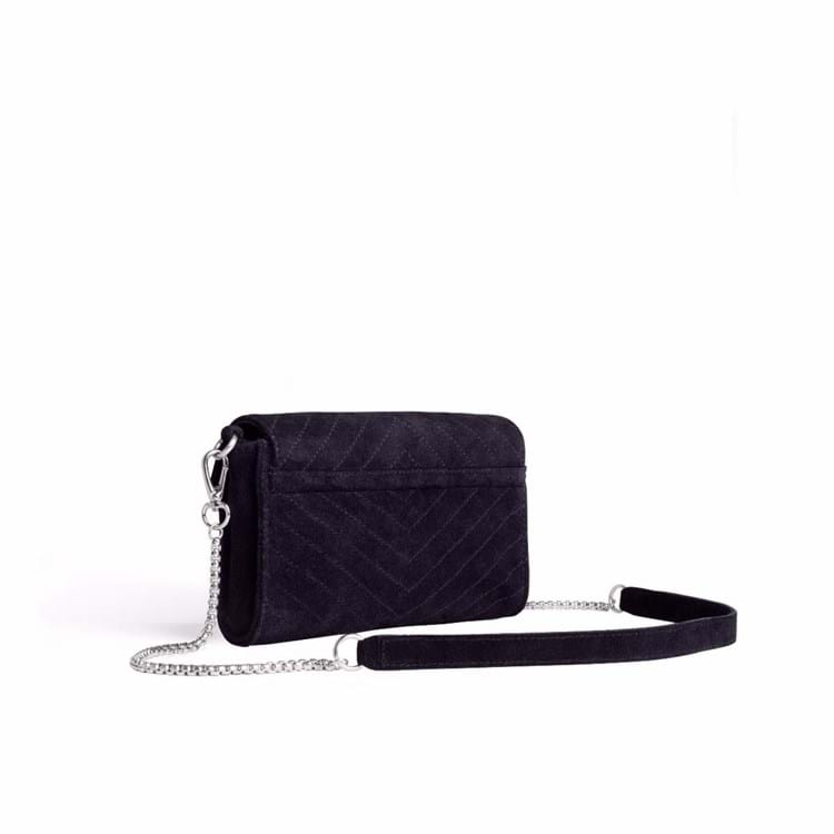 Crossbody Thunder Suede  Sort 2