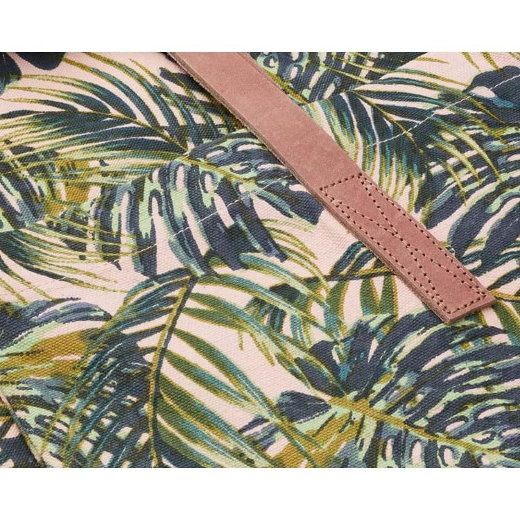 Shopper, Palm Leaves Grøn mønster 2