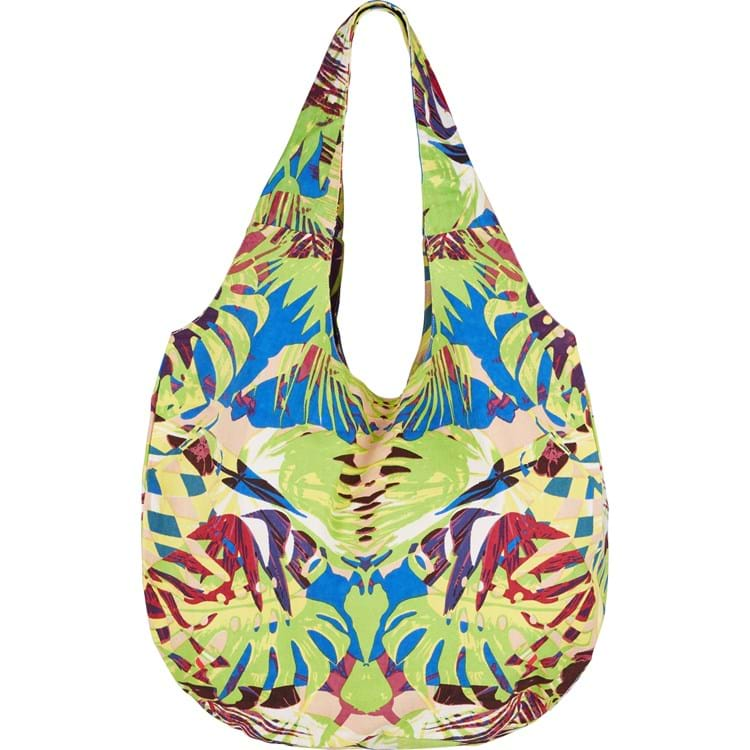 Skuldertaske, Jungle Beach Bag Lime 1