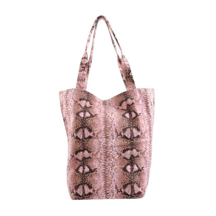 Shopper Big snake Rosa 1