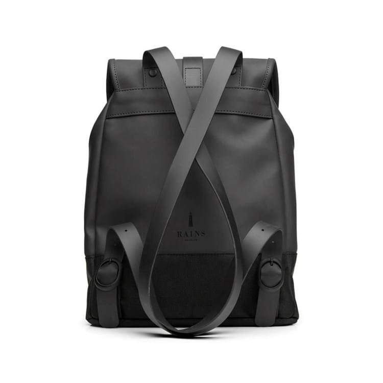 Rains Rygsæk Drawstring Backpack Sort 2