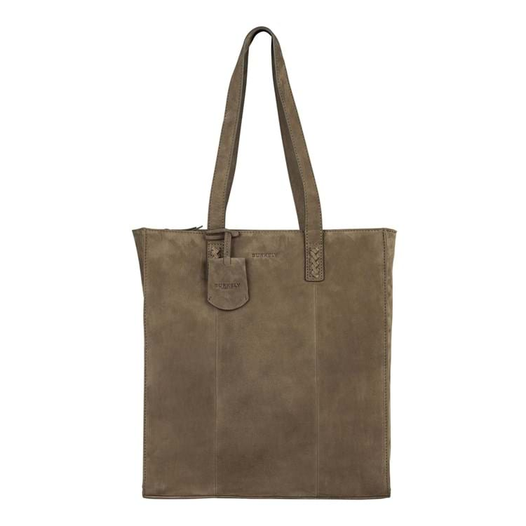 Shopper Braid Britt  Oliven 1