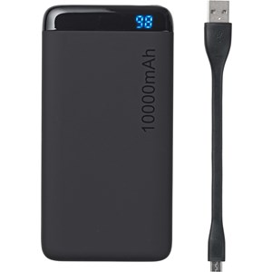 Powerbank 10.000 mAh med LED s