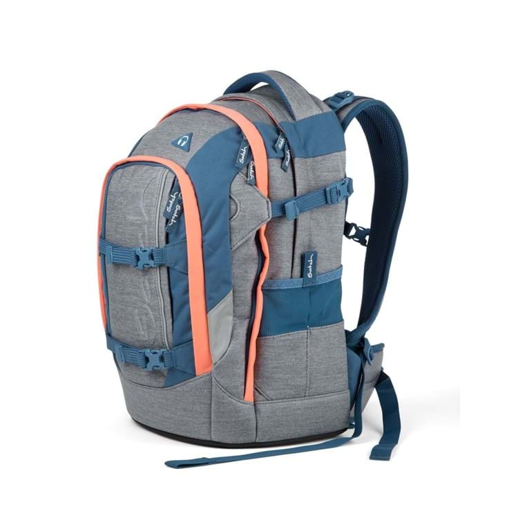 Satch pack Cozy Edition Limite Grå/orange 2