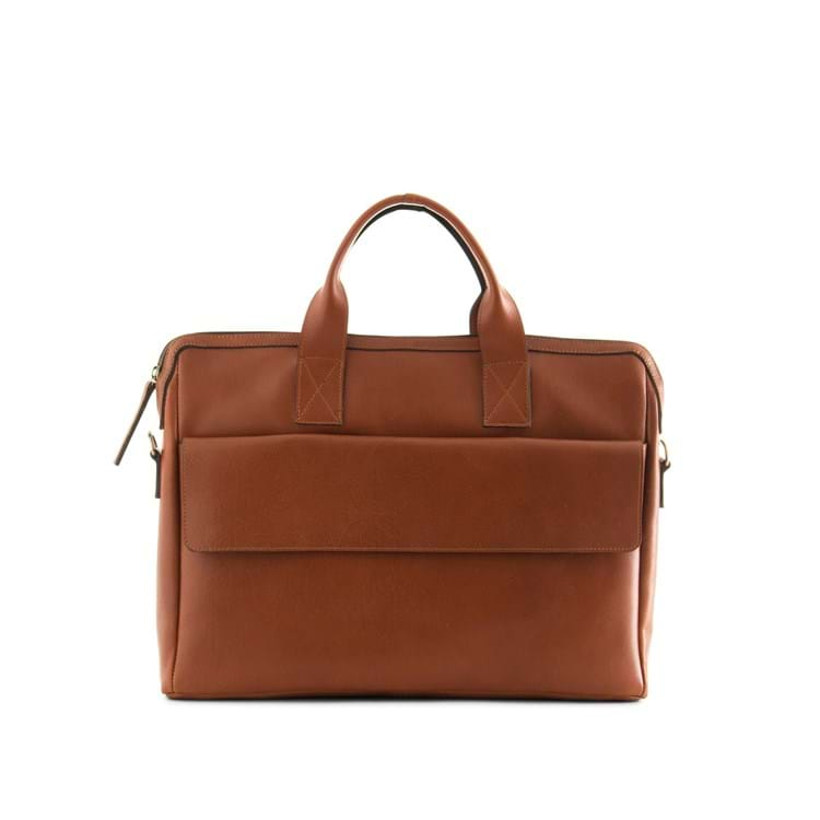 Herremappe Clean pocket Cognac 1