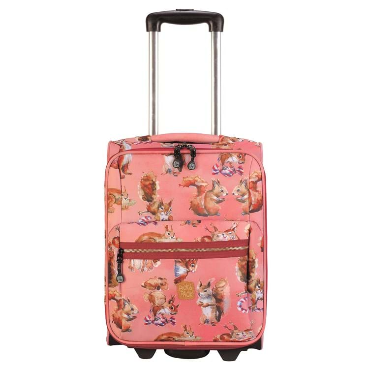 Pick&Pack Trolley Squirell  Rosa 1