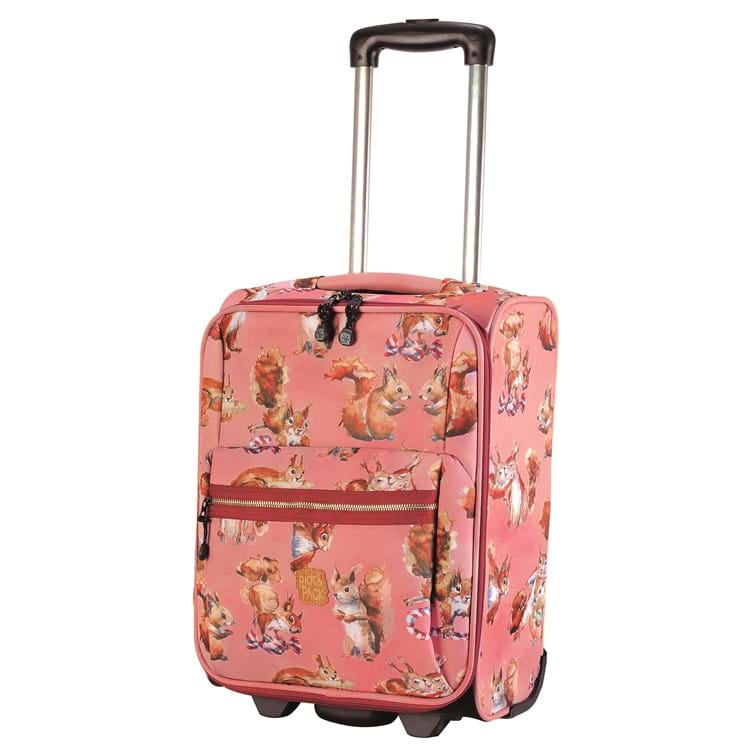 Pick&Pack Trolley Squirell  Rosa 2