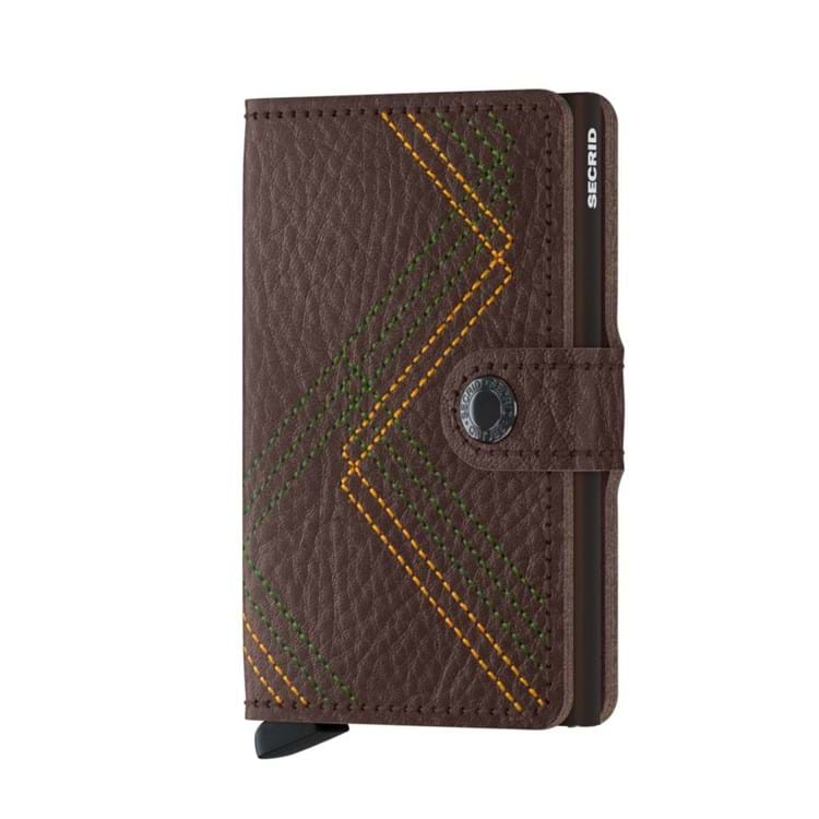 Kortholder Mini wallet Brun 1